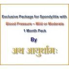 Exclusive Package for Spondylitis (Blood-Pressure)
