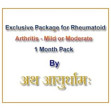 Exclusive Package for Rheumatoid Arthritis (Mild to moderate)