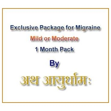 Exclusive Package for Migraine (Mild to moderate)